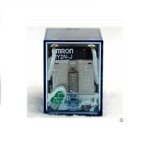 Kit Com 4 Relés Com Base Omron My2n-j 12 Vdc 5a Com Led
