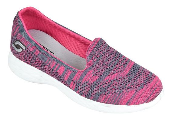 Zapatillas Mujer Urbanas Pancha Base Eva Soft Acc (3300/530)
