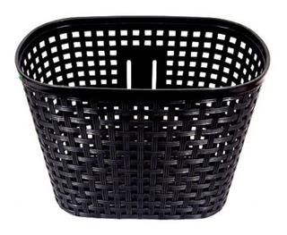 Canasto Para Bicicleta Plastico Grande Delantero Nuevo Compl