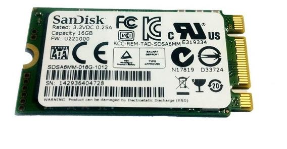 Ssd M2 Sandisk U110 16 Gb Ngff M.2 Ssd Hdd 6 Gb/s 2242