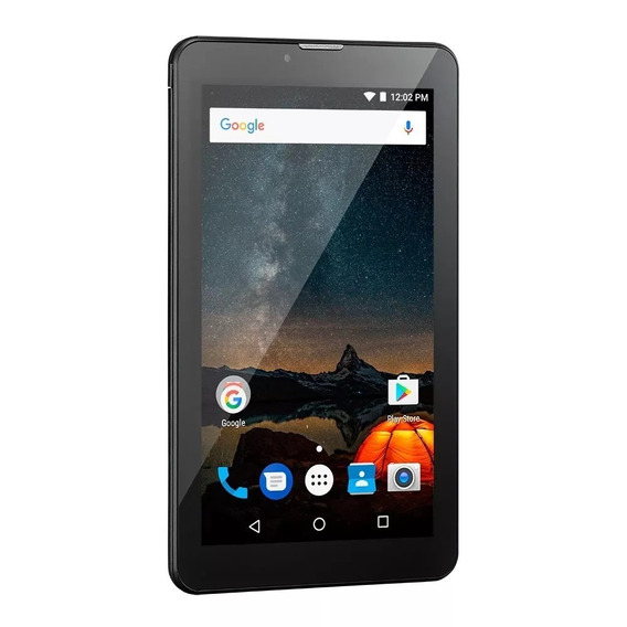 Tablet Multilaser M7s Plus 1gb Ram Wi-fi 8gb Nb273 Preto