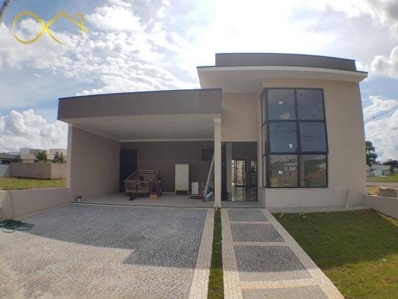 Casa Com 3 Dormitórios À Venda, 172 M² Por R$ 680.000,00 - Condomínio Campos Do Conde Ii - Paulínia/sp - Ca1648