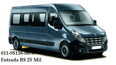 Renault Master Executivo L3h3 16 Lugares Minibus
