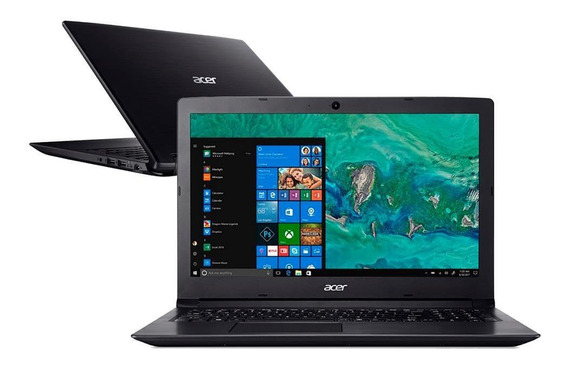 Notebook Acer A315-53 15.6 I3-8130u 8gb Ssd 480 Gb W10 Pro