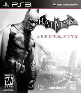 Batman: Arkham City Ps3 Original Entrega Inmediata