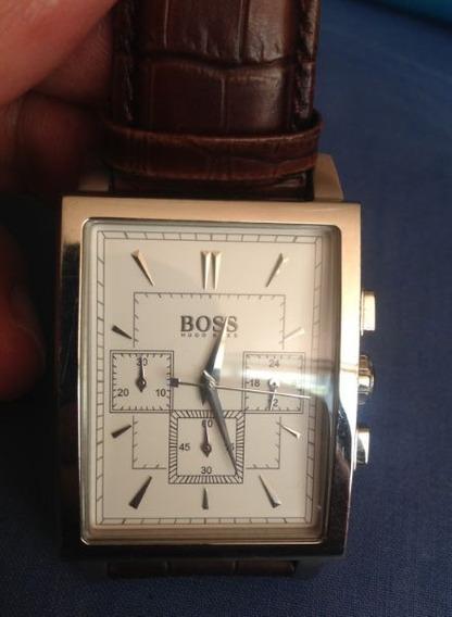 Reloj Hugo Boss Para Caballero, Cronógrafo, Original