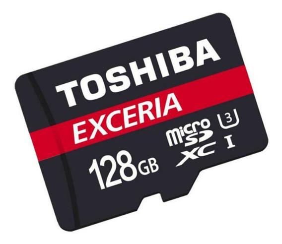 Cartão De Memória Toshiba 128gb 90mb/s Microsdxc