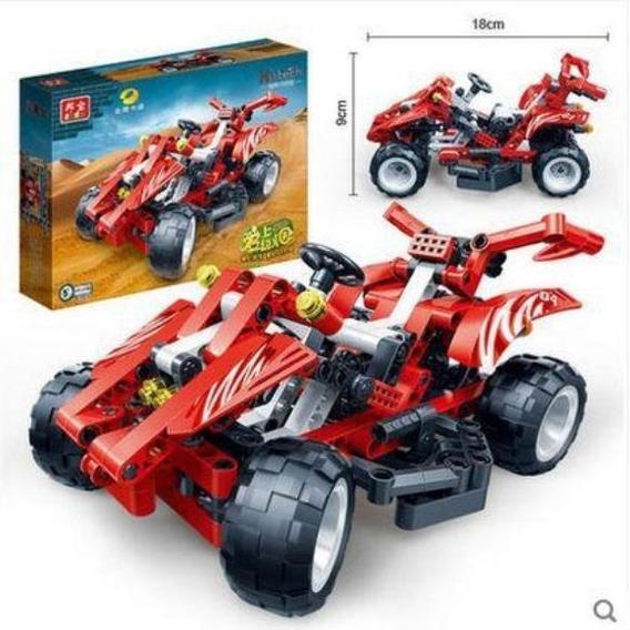 Lego Banbao Carro 250 Piezas Juguete Armable Niños