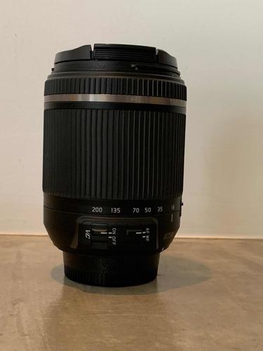 Lente Tamrom 18-200mm Nikon