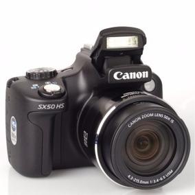 Câmera Digital Canon Powershot Sx50 Hs 12.1 Megapixels