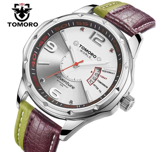 Reloj Unisex Bicolor Marca Tomoro.