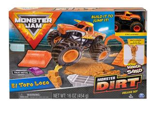 Monster Jam Pista C/rampas 2 Surt + 1 Veh Int 58706 Original