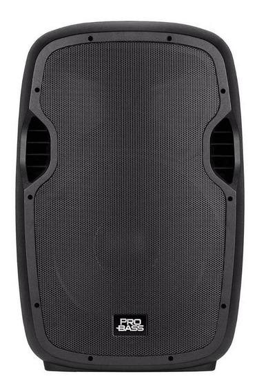 Caixa de som Pro Bass Elevate 115 portátil Preto 110V/220V