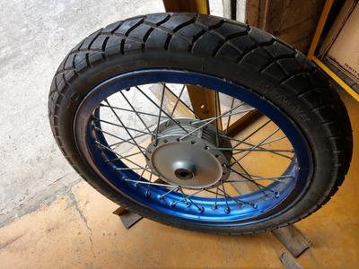 Rin 18 En Aluminio Para Moto Bóxer Libero Hero Ax Rx