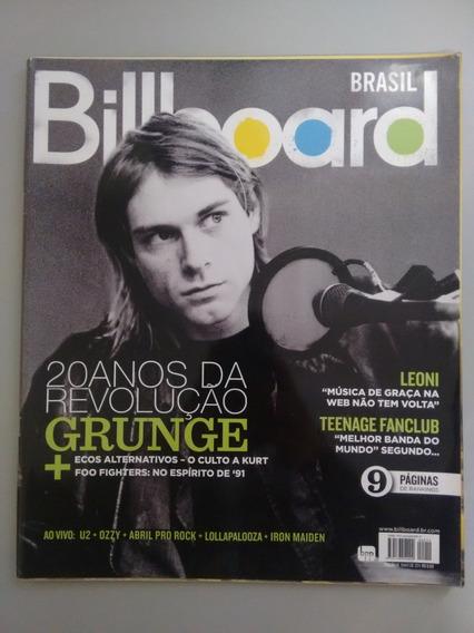 Revista Billboard 19 Leoni Foo Fighters Teenage Fanclub Y071