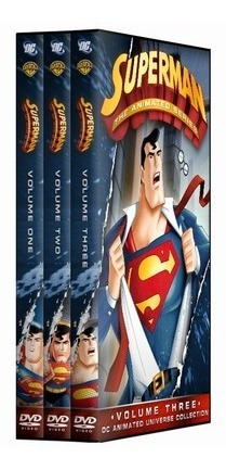 Superman Animated - Completo *colecionador Dvd