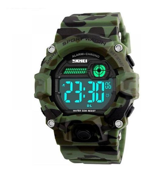 Relógio Masculino Skmei Digital 1242 - Camuflado