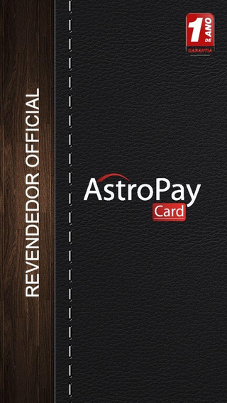 Cartao Astropay Gift Resseler Peca O Seu Agora!!!!