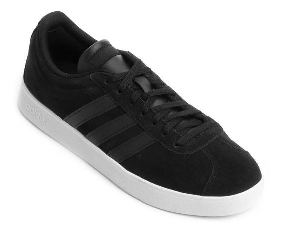 Tênis adidas Vl Court 2 Masculino - Preto - Da9865