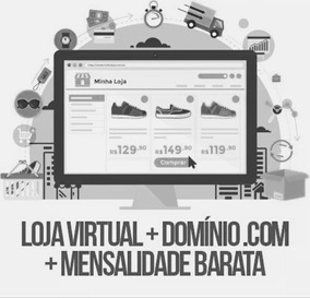Loja Virtual + Hospedagem