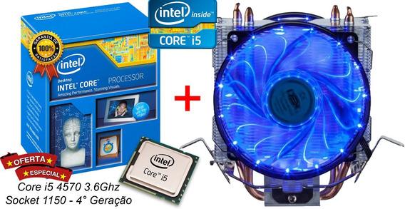 Processador Intel Core I5 4570 3.6ghz 6mb Lga 1150 + Cooler