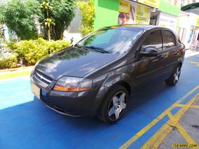 Chevrolet Aveo Sd Mt 1600 4 Puertas Aa
