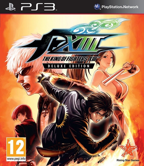 The King Of Fighters 13 Xiii Ps3 Digital Psn Original