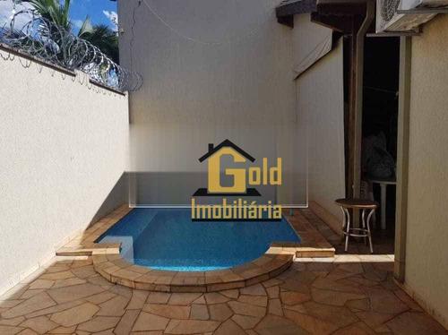 Casa Com 3 Dormitórios, 146 M² - Venda Por R$ 530.000,00 Ou Aluguel Por R$ 2.580,00/mês - Residencial E Comercial Palmares - Ribeirão Preto/sp - Ca0853