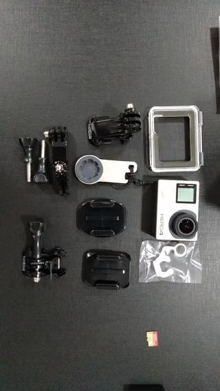 Kit Completo Câmera Go Pro Hero 4 Black