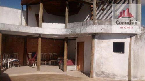 Imagem 1 de 9 de Casa Residencial À Venda, Jardim Europa, Nova Odessa. - Ca0935