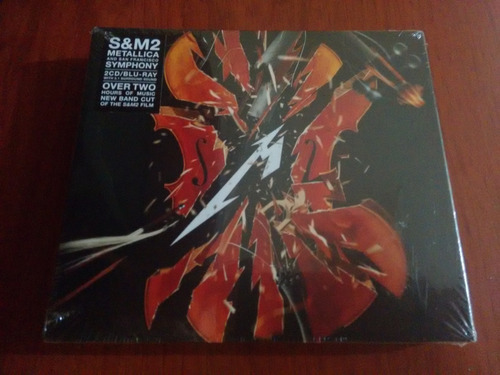 Metallica S&m2 2cd/bluray Nuevo