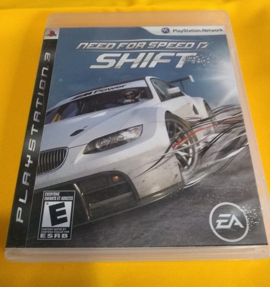 Need For Speed Shift Ps3 Usado
