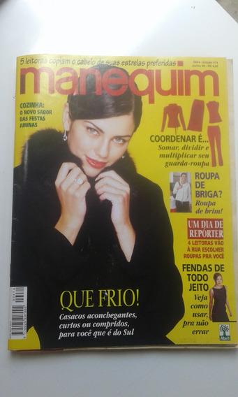 Revista - Manequim 474 - Fendas De Todo O Tipo - Frio