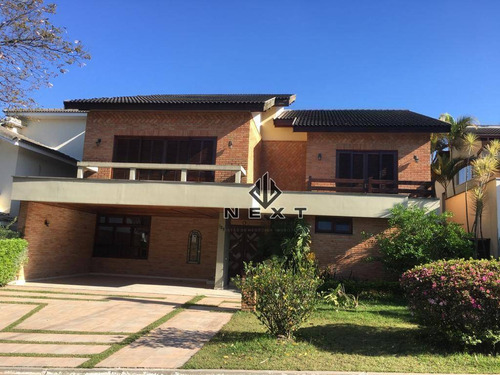 Casa Com 5 Dormitórios À Venda, 490 M² Por R$ 2.600.000 - Alphaville 05 - Santana De Parnaíba/sp - Ca0753
