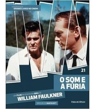 Dvd + Livro O Som E A Fúria - William Faulkner - Vol 21