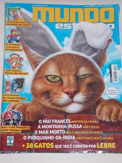 Revista Mundo Estranho Número 144 Outubro 2013