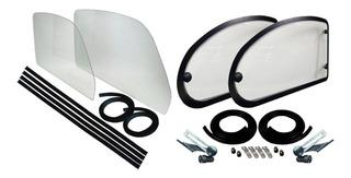 Kit Abatibles + Vidrios Corridos Para Vocho Sedan Volkswagen