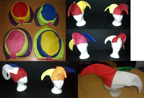 Sombrero Arlequin O De Payasito Hora Loca Carnaval