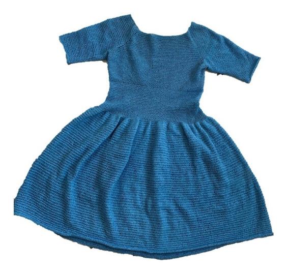 Vestido A Crochet Hecho A Mano Al Gusto
