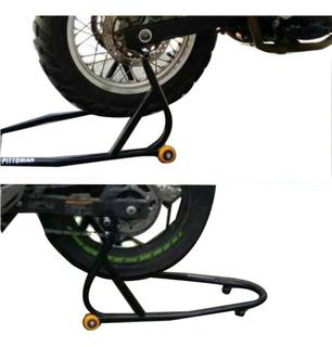 Caballete Para Moto Universal 2 Pares Soportes Tijera-spools