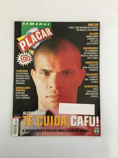 Revista Placar Nº 1177 Maio 2001 Flamengo São Plaulo Kaká