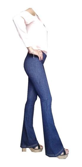 Calza Simil Jean Oxford De Mujer Termico 1 Al 6