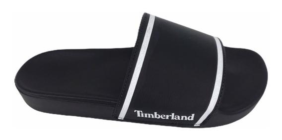 Chinelo Timberland Slide On Basic Nº 40 Preto Original