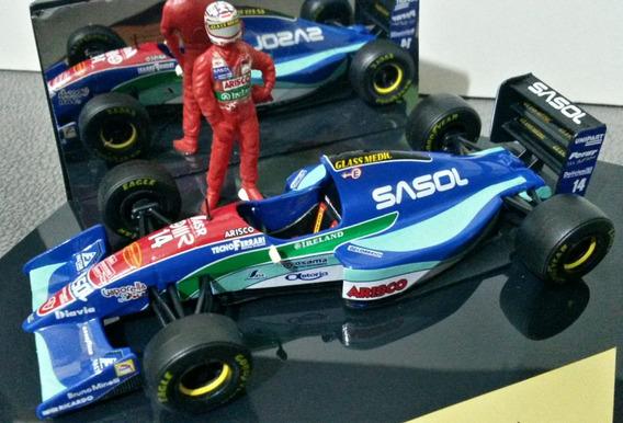 Miniatura 1/43 F1 Jordan 194 Barrichello C/ Figura Onyx Gode