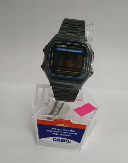 Reloj Casio Negro Metal