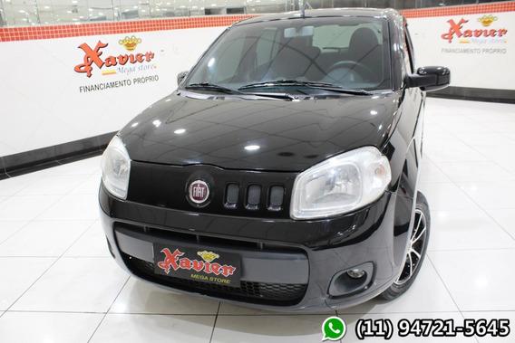 Fiat Uno Vivace 1.0 4p Preto 2012 Financiamento Próprio 4744