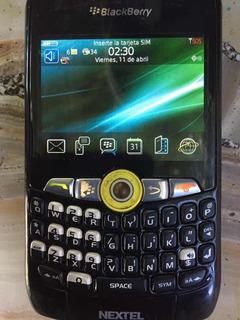 Nextel Black Berry I8350 A Revisar
