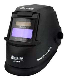 Máscara Fotosensible Niwa Start Para Soldar Automática