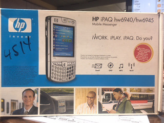 Hp Ipaq Hw6945 Mobile Messenger Fa745aa Cell Phone/pda 4gb W