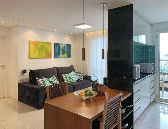 Apartamento Com 2 Dormitórios À Venda, 76 M² Por R$ 530.000 - Jardim Tupanci - Barueri/sp - Ap0794